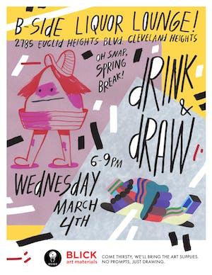 Drink & Draw w/ BLICK