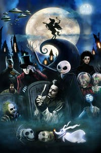 Brain Party Trivia- Tim Burton Themed Night