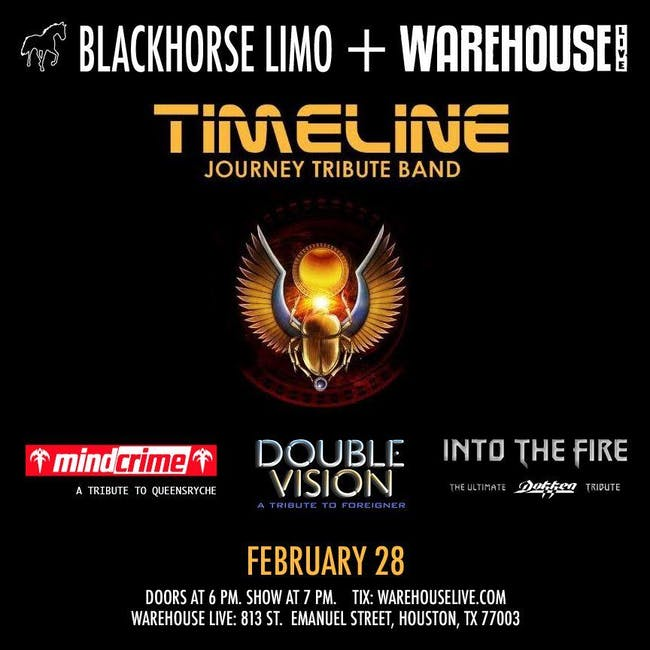 TIMELINE (JOURNEY TRIBUTE BAND), MINDCRIME (TRIBUTE TO QUEENSRYCHE)