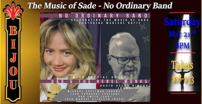 The Music of SADE - No Ordinary Band