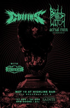 Coffins, Bell Witch/Aerial Ruin collaboration, Petrification