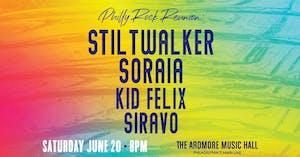 Philly Rock Reunion: Stiltwalker + Soraia + Kid Felix + Siravo