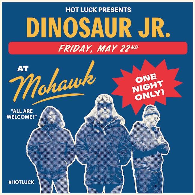 POSTPONED: Dinosaur Jr. @ Mohawk
