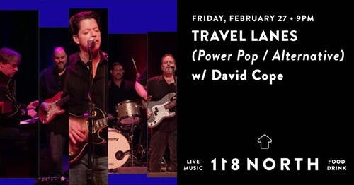 Travel Lanes (Album Release) w/ Dave Cope and The Sass