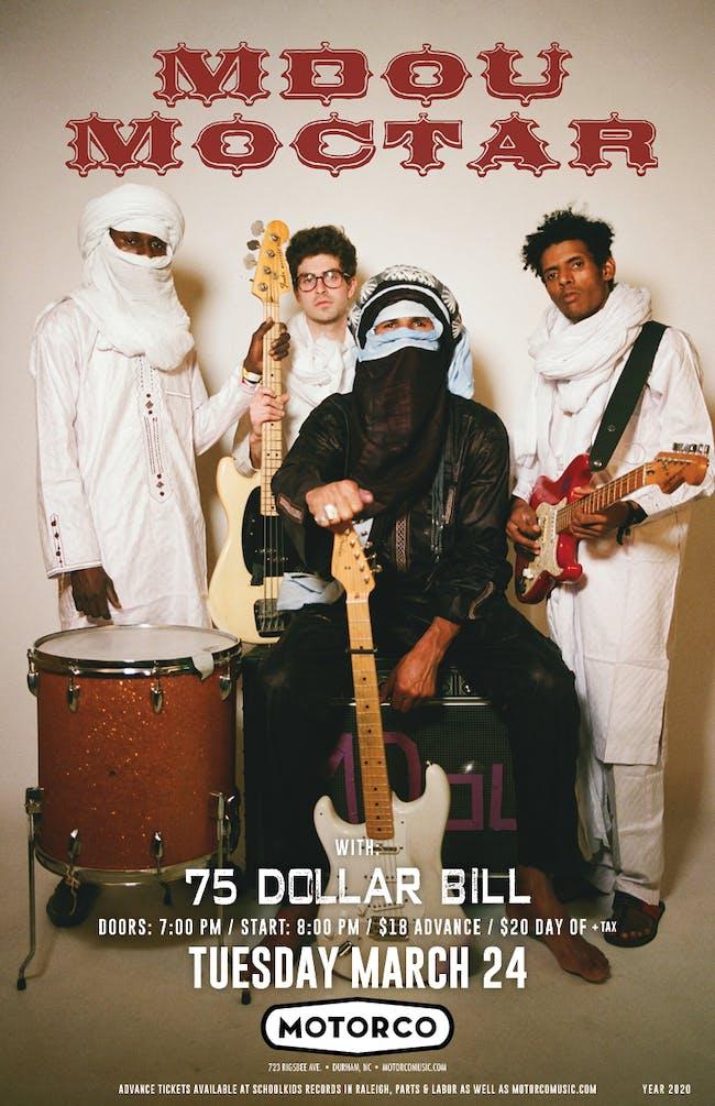 MDOU MOCTAR/ 75 Dollar Bill