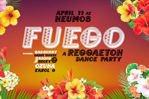 Fuego! A Reggaeton Dance Party