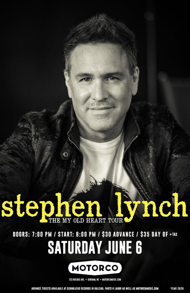 NEW DATE! - STEPHEN LYNCH