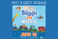 Blippi The Musical Meet & Greet UPGRADE
