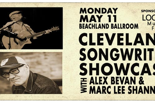 Cleveland Songwriter Showcase featuring Alex Bevan and Marc Lee Shannon