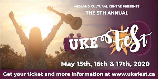 Uke Fest 2020 5th Annual Year