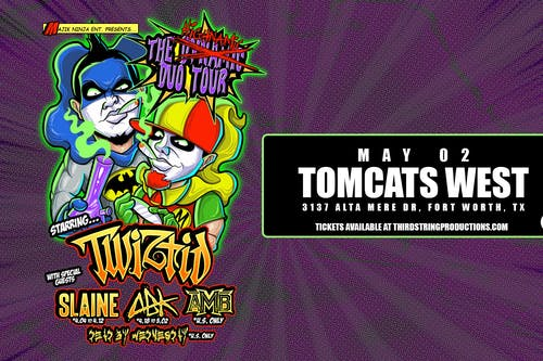 Twiztid at Tomcats West