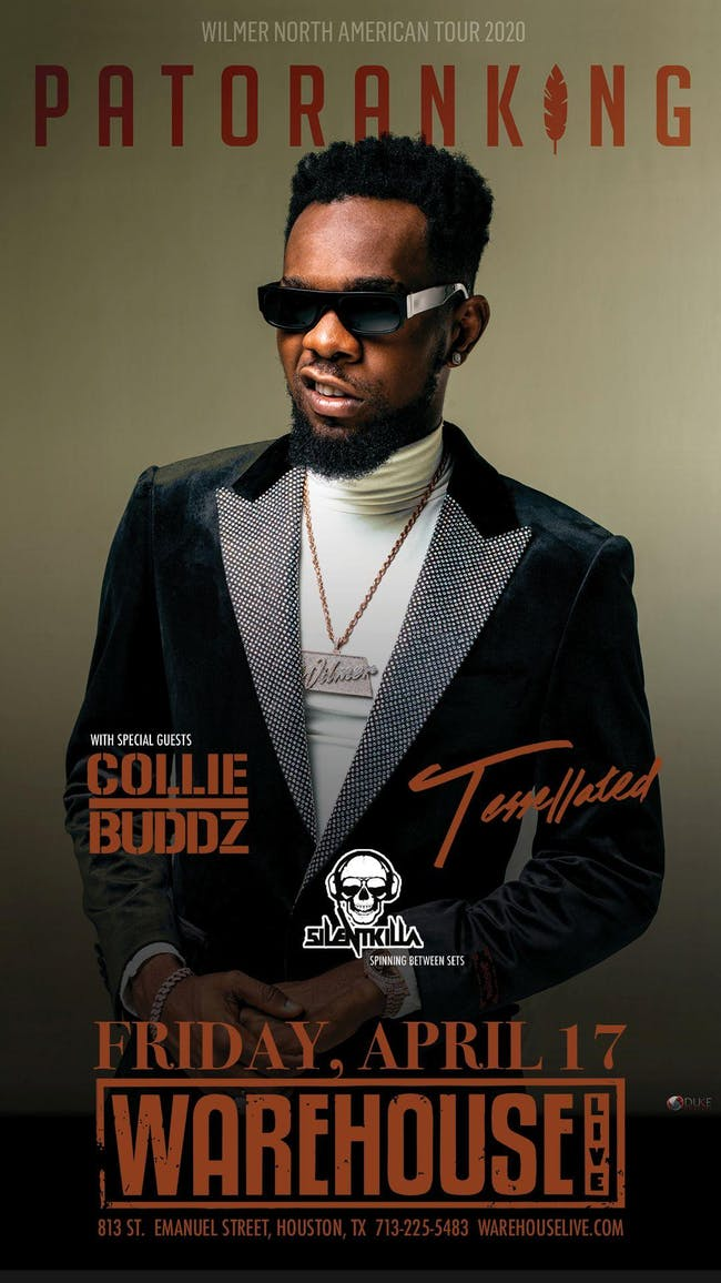 PATORANKING AND COLLIE BUDDZ - WILMER NORTH AMERICAN TOUR