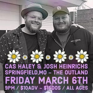 Cas Haley and Josh Heinrichs at Outland (Downstairs)