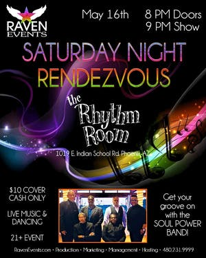 Raven's Saturday Night Rendezvous with SOUL POWER BAND