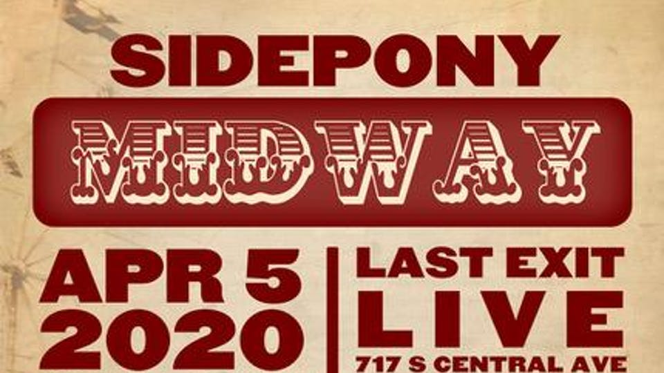 Sidepony Midway - An Independent Musician's Vendor Fair