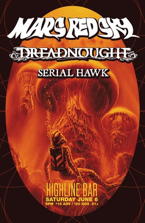 Mars Red Sky, Dreadnought, Serial Hawk