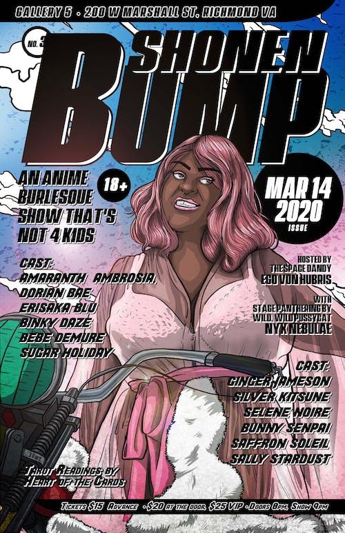 Shonen Bump: an Anime Burlesque Show That's Not 4 Kids!