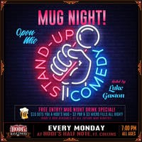 Mug Night: Stand Up Comedy - 10 Year  Celebration!