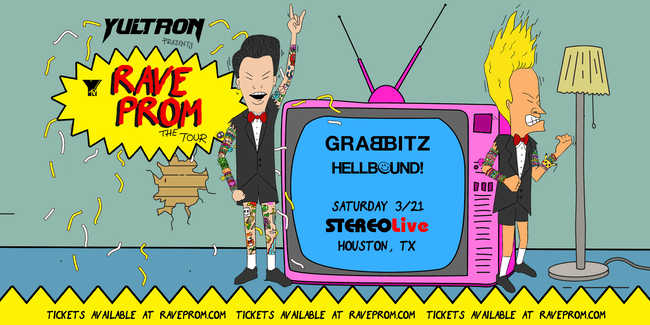 Yultron - Rave Prom Tour - Stereo Live Houston