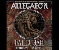 POSTPONED - Allegaeon w/ Fallujah, Entheos, Etherius