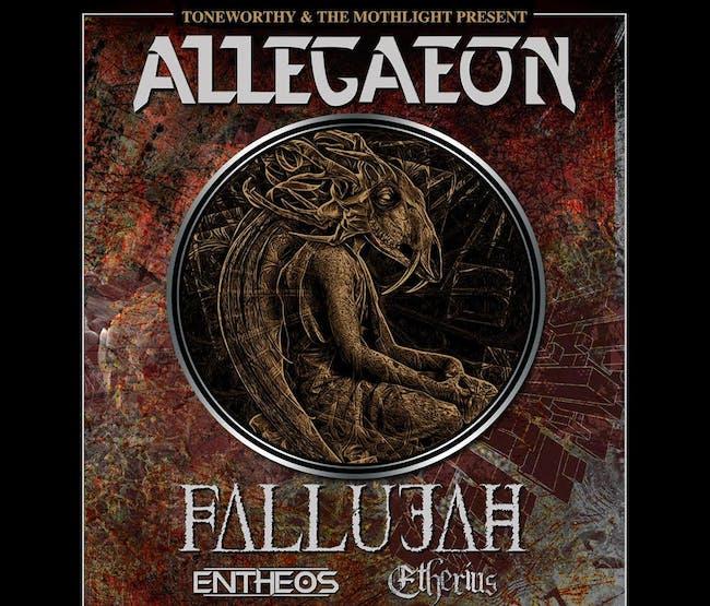 Allegaeon w/ Fallujah, Entheos, Etherius