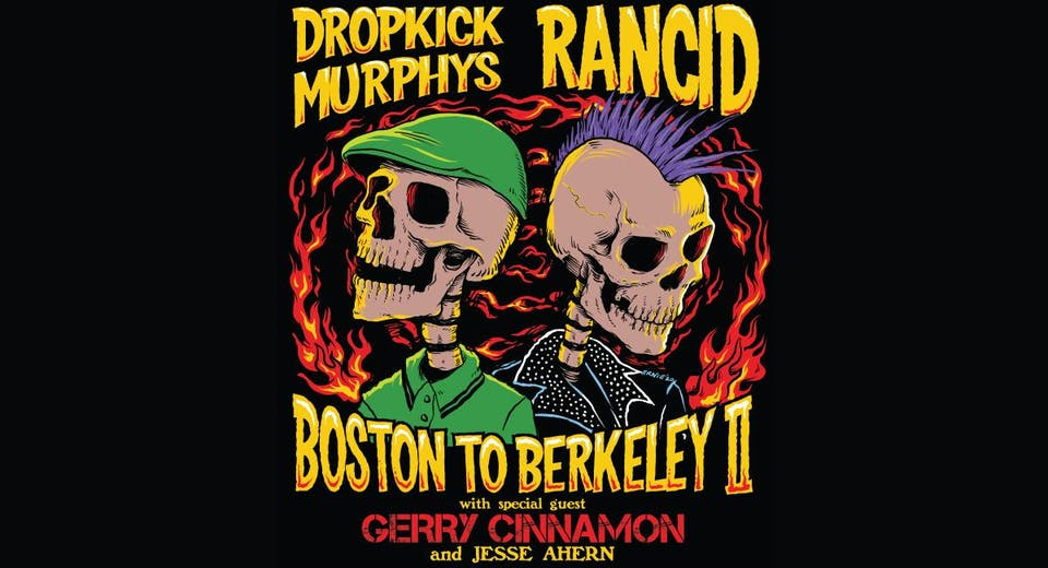 "Dropkick Murphys and Rancid ""Boston to Berkeley II"" @ The Lawn at The Long Center"