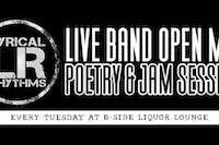 Lyrical Rhythms: Live Band Open Mic + Poetry Tuesdays  at B Side Lounge