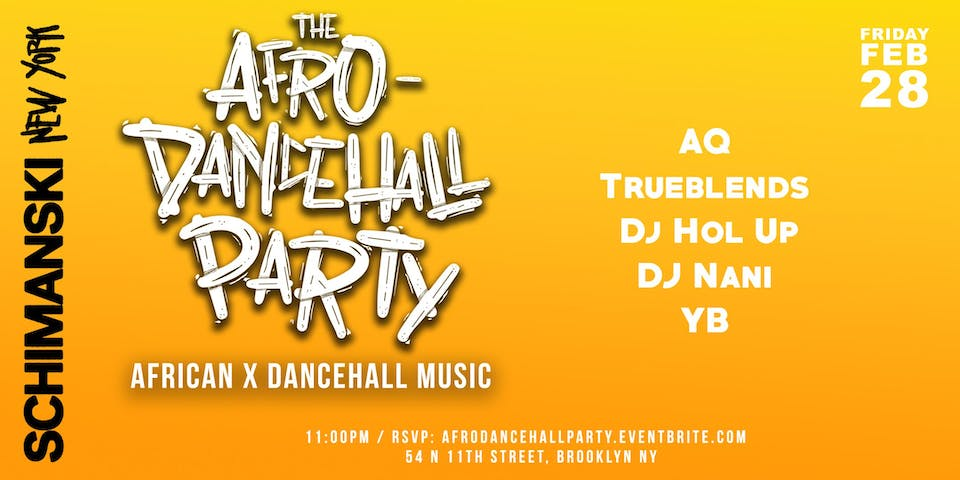 The Afro-Dancehall Party