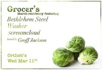 Grocer  / Bethlehem Steel / Washer / Screamcloud