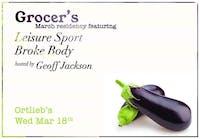 Grocer / Leisure Sport / Broke Body