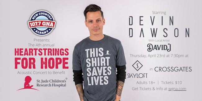 GNA's Heartstrings For Hope Concert starring Devin Dawson