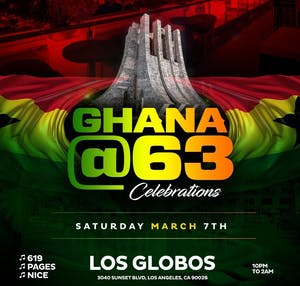 LA Celebrates GHANA@63 - Ghanaian Independence Celebration 2020