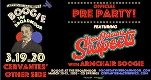 New Orleans Suspects w/ Armchair Boogie - Boogie at The Broadmoor Pre-Party