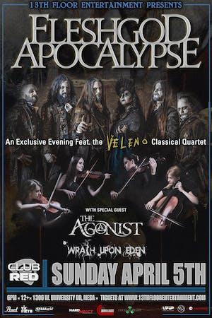 Fleshgod Apocalypse Featuring The Veleno Classical Quartet