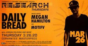 RE:Search ft. Daily Bread w/ Megan Hamilton, Motifv, Jordan Polovina