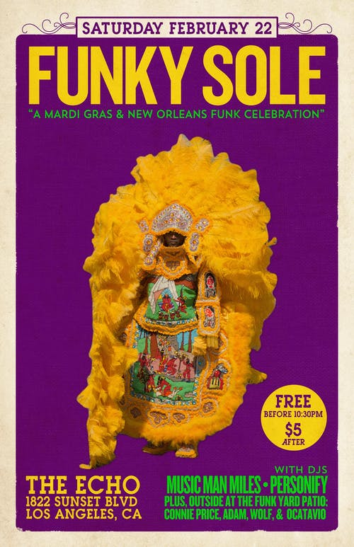 Funky Sole - A Mardi Gras & New Orleans Funk Celebration
