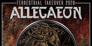 POSTPONED: Allegaeon - Terrestrial Takeover 2020