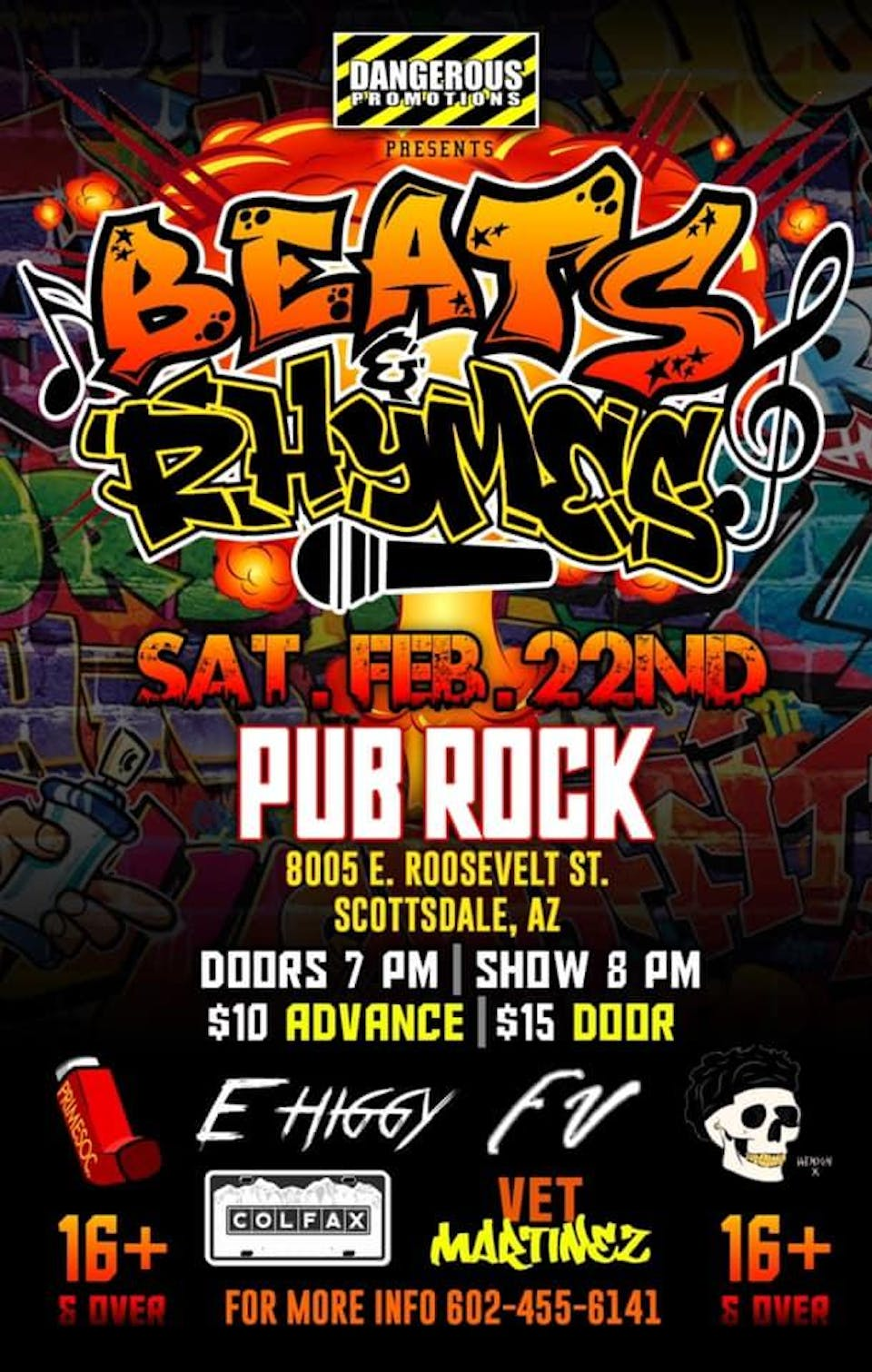 "Dangerous Promotions Presents ""Beats and Rhymes"""