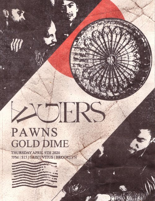 Algiers, Pawns, Gold Dime (New Date! 12/11)