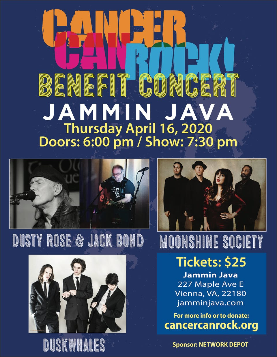 POSTPONED | Cancer Can Rock Benefit Concert