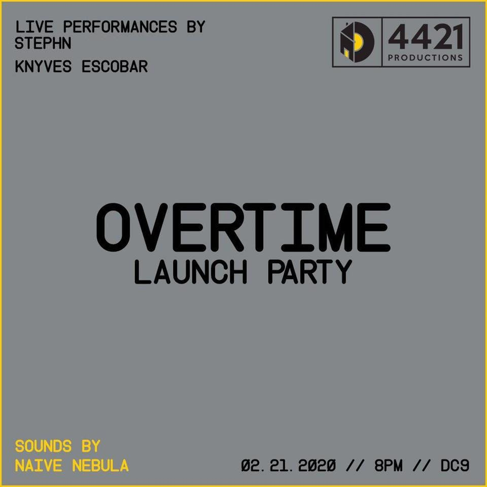 Overtime Launch Party