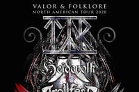 """Valor & Folklore"" North American Tour 2020 feat. TYR at El Corazon"