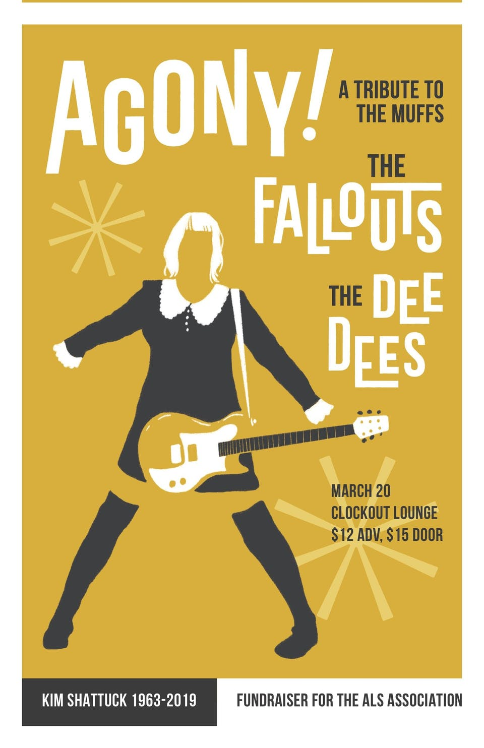 Agony!  A tribute to The Muffs