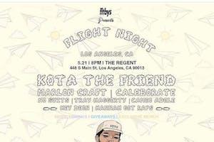 Fltbys X SHP Present Flight Night: Kota the Friend (Rescheduled from 05/21)
