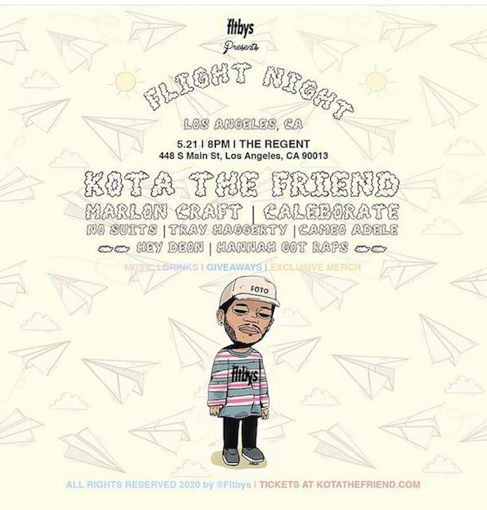 Fltbys X SHP Present Flight Night: Kota the Friend