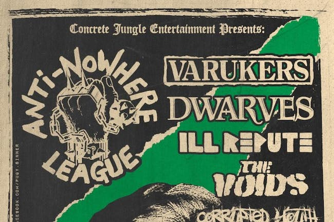 Anti-Nowhere League + The Varukers