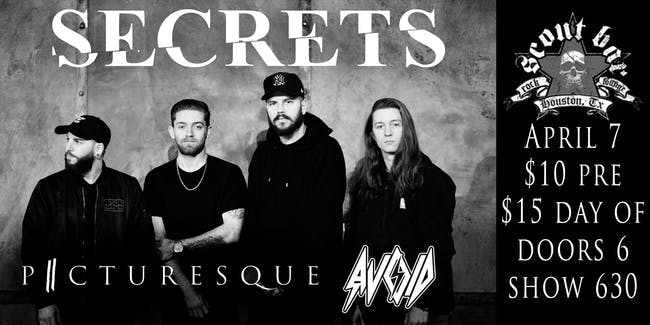 SECRETS- The New Decade Tour - POSTPONED - new date coming very soon