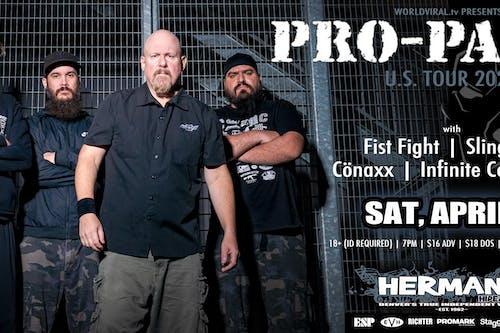 (postponed)PRO-PAIN w/ Fist Fight | SlingFist | Cönaxx | Infinite Conscious