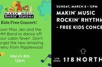 Makin' Music  Rockin' Rhythms - Free Kids Concert
