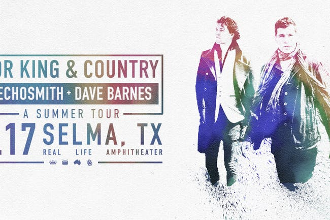for King & Country (postponed)